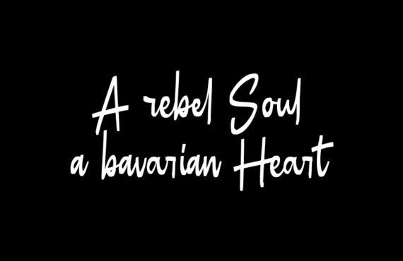 A rebel soul …